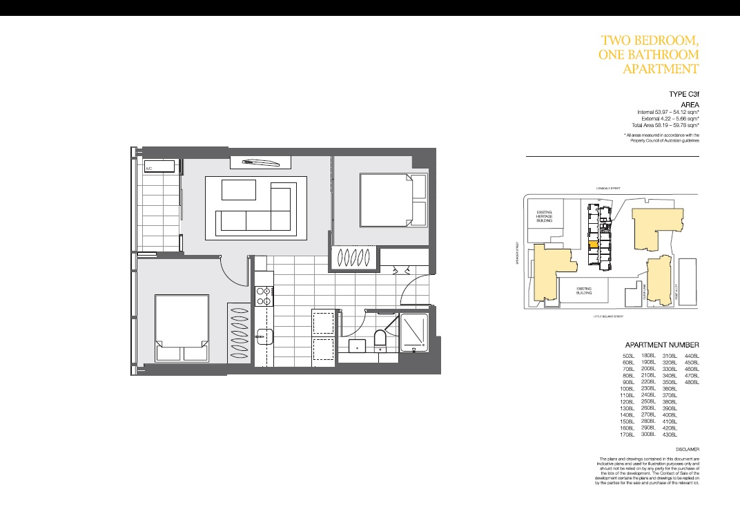4408 639 lonsdale street melbourne vic 3000 pire for Apartment floor plans melbourne